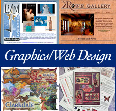 Graphics and Web Design Services by Emily M. Miller